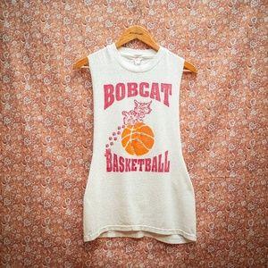 Vintage Tank Top Bobcat Basketball